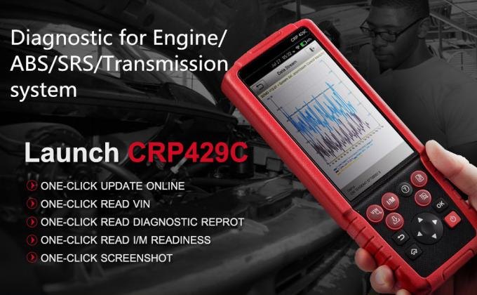 LAUNCH X431 CRP429C Launch X431 Scanner for Engine/ABS/SRS/AT+11 Service