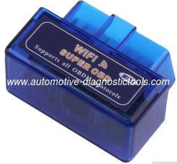 China MINI WIFI ELM327 OBDII Code Reader V1.5 Software Version Support Android and iPhone / iPad supplier