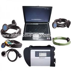 V2020 MB SD Connect Compact 4 Mercedes Diagnostic Tool with DELL D630 Laptop Support Offline Programming