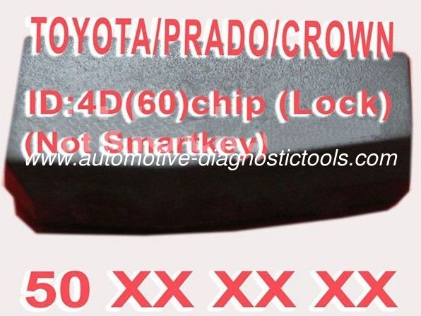 Toyota / Prado / Crown 4D60 Duplicable Chip 50xxx Car Key Transponder Chip