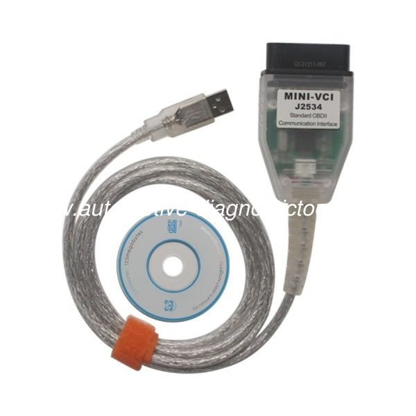 MINI VCI V10.30.029 Automotive Diagnostic Tools Single Cable For Toyota Support Toyota TIS