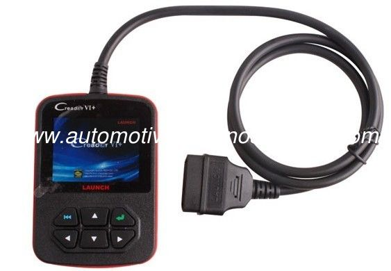 Full Functions of OBD&EOBD, OBDII Code Scanner Launch  X431 Creader VI+