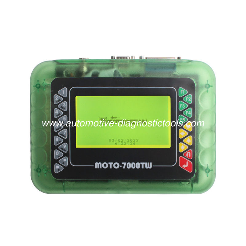 MOTO 7000TW  Universal Motorcycle Scan Tool V8.1 Version Support Reset Key Systems