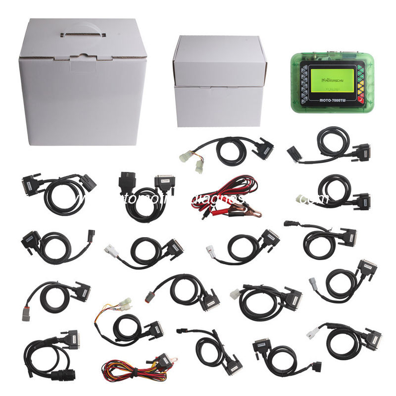 MOTO 7000TW Universal Motorcycle Scan Tool V8 1 Version Support