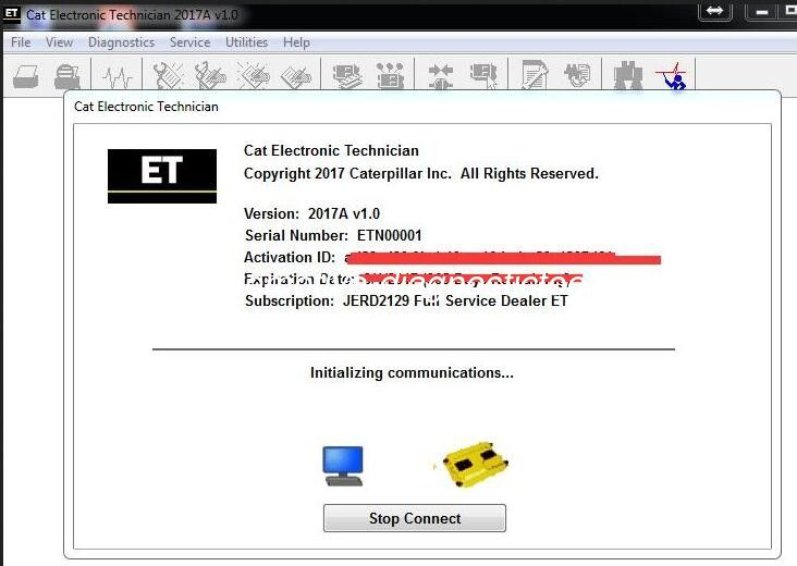 Caterpillar ET 2017A V1.0 Electronic Automotive Technician Diagnostic Software 01/2017 supplier