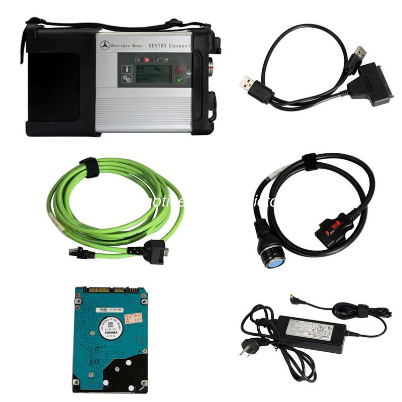 DoIP Xentry SD Connect C5 Wifi Mercedes Diagnostic Tool Tab Kit Support Online Programming supplier
