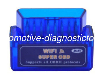 Mini WIFI ELM327 Car OBDII Scanner Automotive Diagnostic Tools Support for IOS , Android System