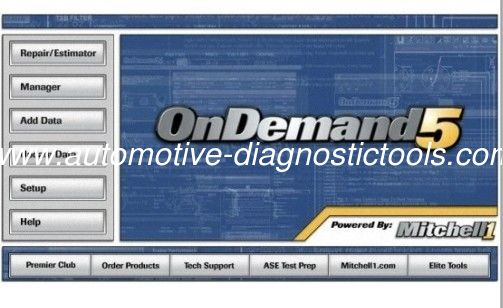 Mitchell On Demand 5 Car Diagnostic Software Tool for BMW, Audi, Acura,