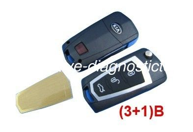 3 1 Button Kia Cerato Modified Remote Key Shell Custom Remote Car