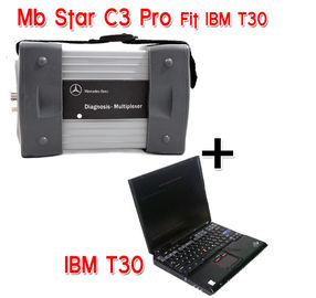 Mercedes Diagnostic Tool MB STAR C3 With IBM T30 laptop For Mercedes Car , Bus , Sprint , Smart