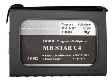 MB Star Compact 4 Mercedes Diagnostic Tool With Dell D630 Laptop Together Support Mercedes Benz Cars After Year 2000