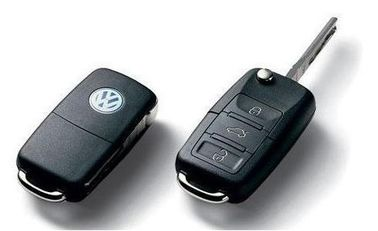 433MHZ 3 Button Auto Remote Key for Volkswagen, VW Remote Transponder Keys with ID48 Chip
