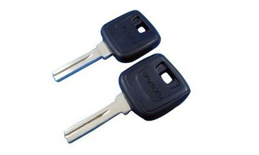 Custom Volvo Transponder Key Chip Id44, Auto Key Blank For Volvo Car